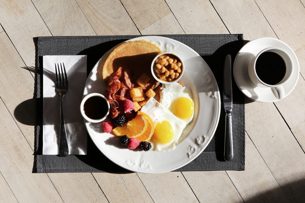 Sunday mornings... and the breakfast