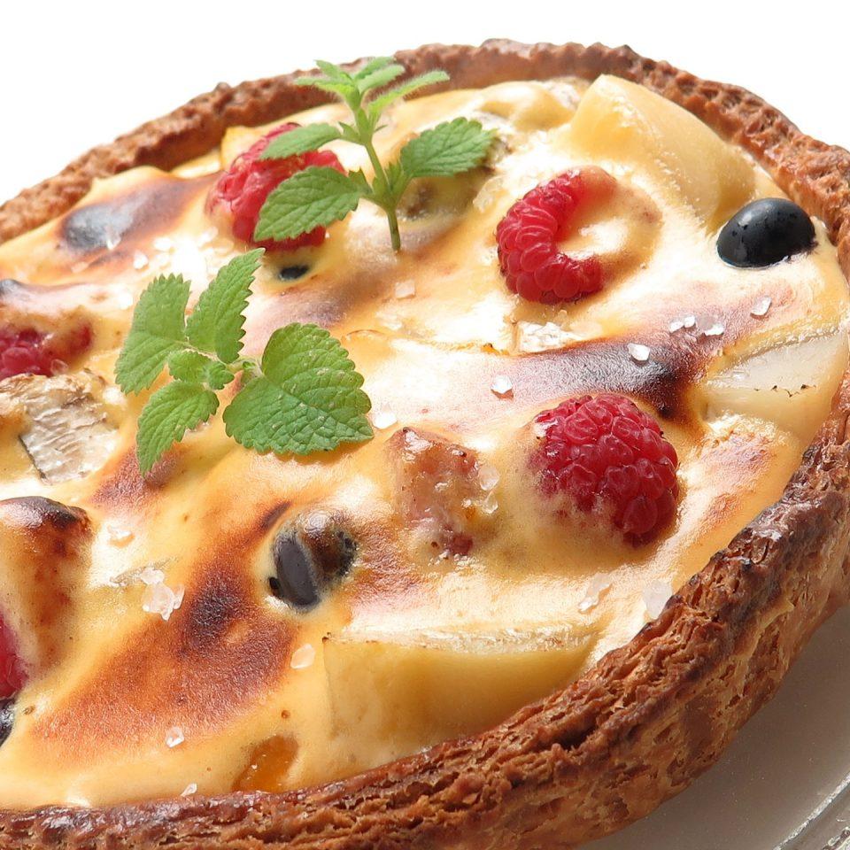 Sweet or salty tart? Hard choise